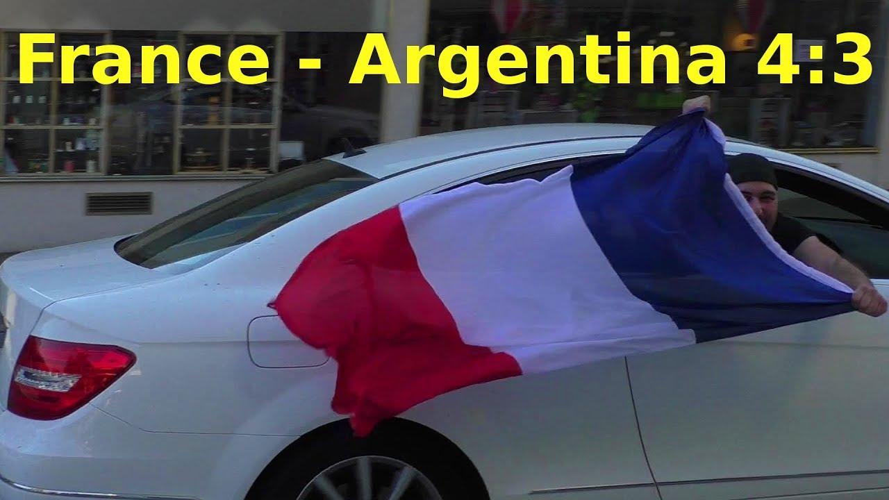 Frankreich Argentinien Wm