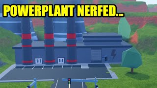 asimo3089 NERFED the POWERPLANT... | Roblox Jailbreak