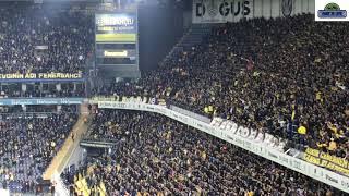 Fenerbahçe - Konyaspor / Efsane Okul Açık - Tüm Tribün Görüntüleri / 16.02.2019