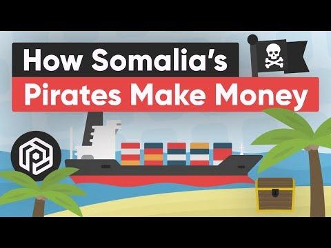 How Somalia's Pirates Make Money