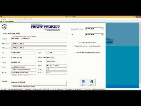 Gst Ready  Pharma ERP Software.