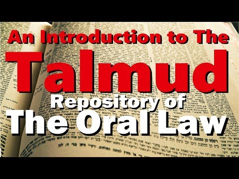 The TALMUD: Repository of the Oral Law (Oral Torah) – Rabbi Michael Skobac – Jews for Judaism