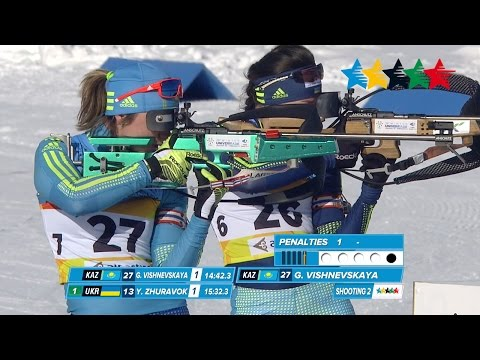 Biathlon Women's 7.5KM Sprint - 28th Winter Universiade 2017, Almaty, Kazakhstan