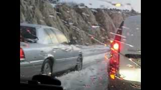 Snow fall in saudi arabia BAHA CITY by Shahzad Qamar
