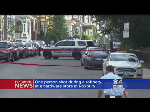 Person Shot During Robbery At Hardware Store In Roxbury