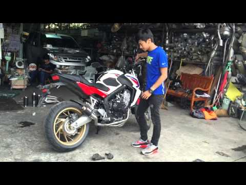 DaivoRacing Special Project Full System CB650F