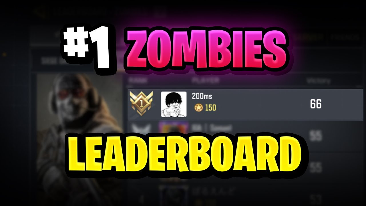 #1 Zombie Player In Call of Duty Mobile! Tips and Tricks from the pro in hard mode!