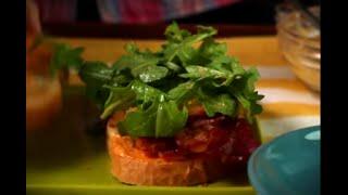Peachy Bacon Sandwiches Thumbnail