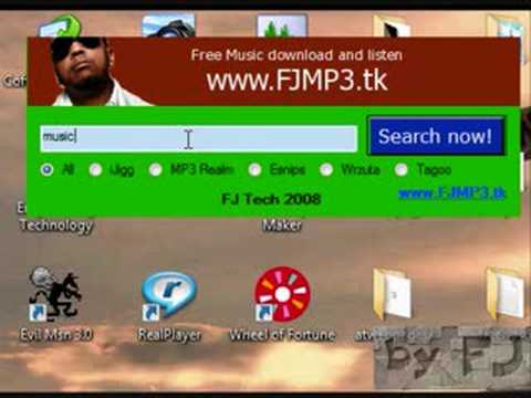 FJMP3 Search engine Soft [VB 2008](listen and download free unlimited music by me)
