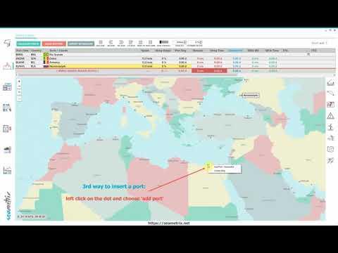 Seametrix: How to insert ports
