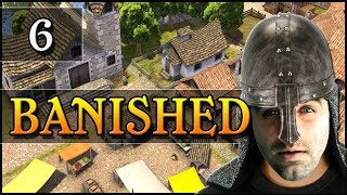 Banished: Ep 6 - Town Hall & Homeless Shelter!