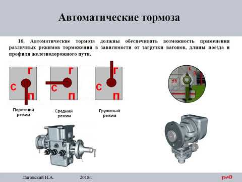 ПТЭ Приложение №5.      15  Автоматические тормоза.