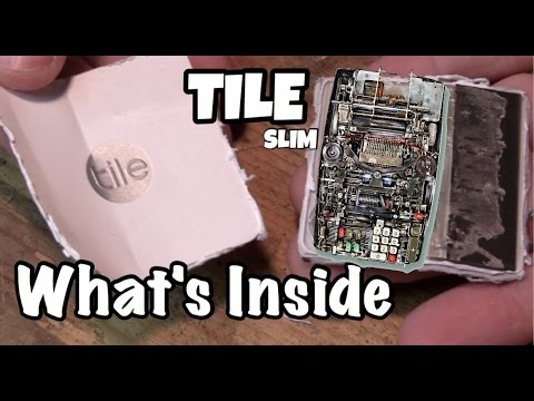 What S Inside A Tile Slim The World S Thinnest