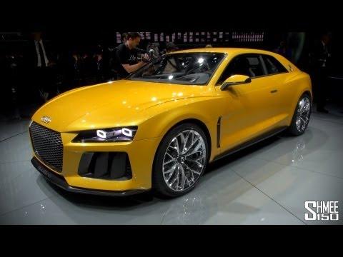FIRST LOOK: Audi Sport Quattro Concept - IAA 2013