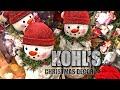 Kohl's Christmas 2019 • SHOPPING FOR CHRISTMAS DECOR 🛍 🛒