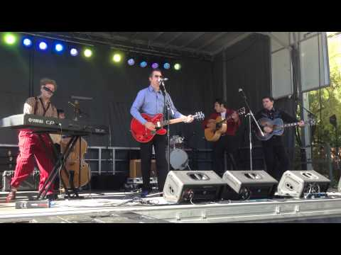 Million Dollar Quartet Performs at Life is Beautiful 2013