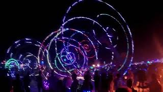COLOR WHEELS - Compagnie Off - Burning Man 2018