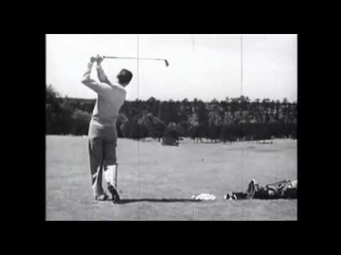 ben hogan swing down the line repeat youtube