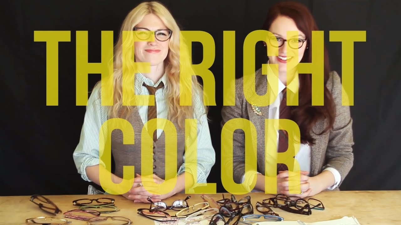 57f290c0ba Picking the Right Color for Your Glasses - YouTube