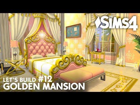 Die Sims 4 Promi Luxus Villa bauen | Golden Mansion #12 ...