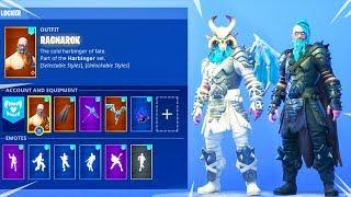 WHITE/BLACK RAGNAROK SKIN! (customized) Fortnite Battle Royale