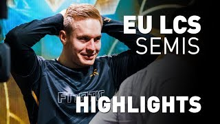 Fnatic Highlights | EU LCS - Semifinals (FNC vs VIT)