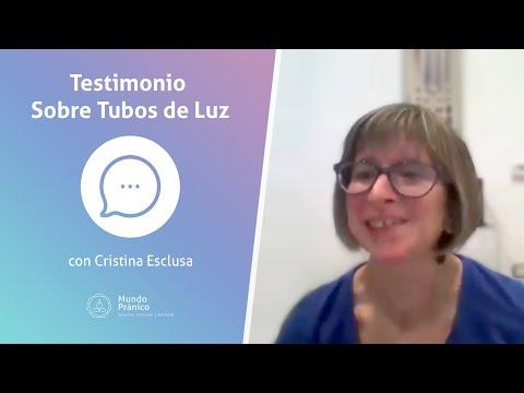 🌍Testimonio de Cristina Esclusa sobre los Tubos de Luz · MUNDO PRÁNICO 🌍