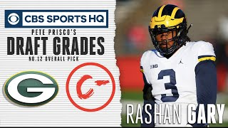 Despite shoulder issues, the Packers draft Rashan Gary 12th overall | NFL Draft 2019 | CBS Sports
