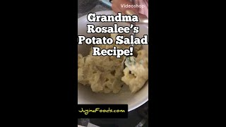 "Jugina Foods Family Recipes: ""Grandma Rosalee's Potato Salad"""