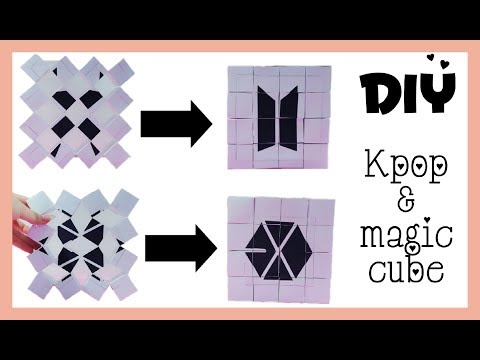 DIY _ Kpop & Magic Cube ( EXO & BTS )