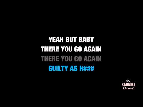 "One More Night in the Style of ""Maroon 5"" karaoke video with lyrics (no lead vocal)"