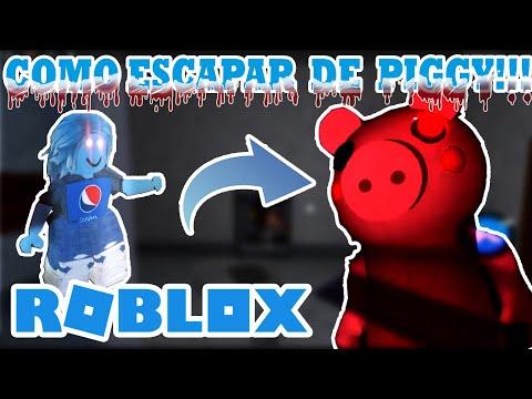 😈🐷ROBLOX PIGGY 😱😨 ¿¿Cómo ESCAPAR De PEPPA ?? 🤔