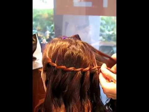 Waterfall Braid for a Bride 2020