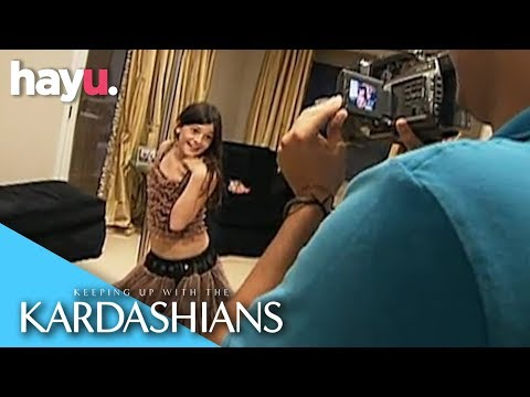 Kendall & Kylie Jenner Make A 'Girl's Gone Wild' Parody Video! | Keeping Up With The Kardashians
