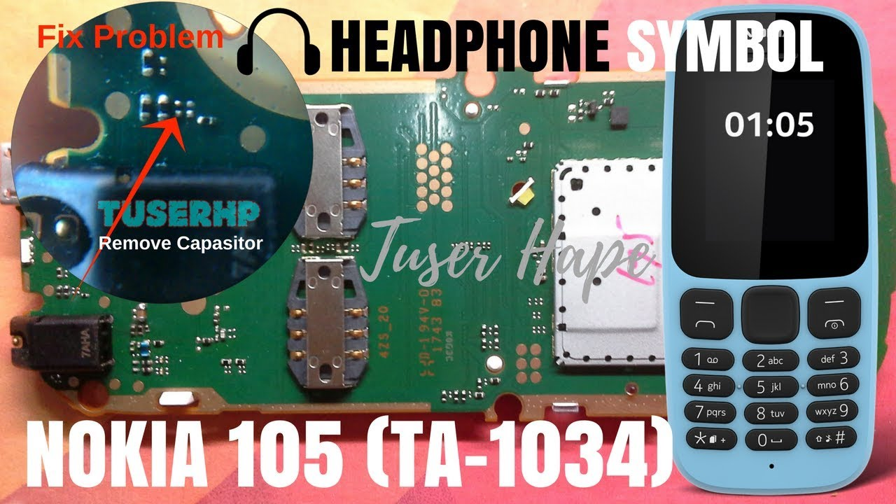 Nokia 105 Ta 1034 Headphone Mode Solved Youtube