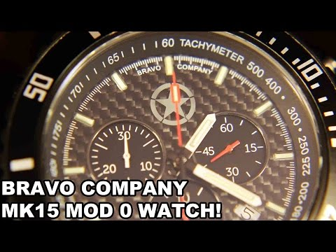 Bravo Company Mk15 Mod 0 Watch! Gunfighter Timepiece