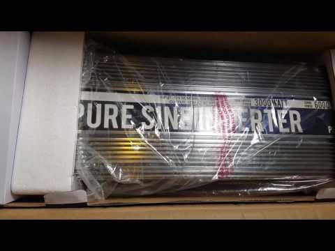 Mobile Power Stuff: Pure Sine Wave Inverter, AGM Batteries.