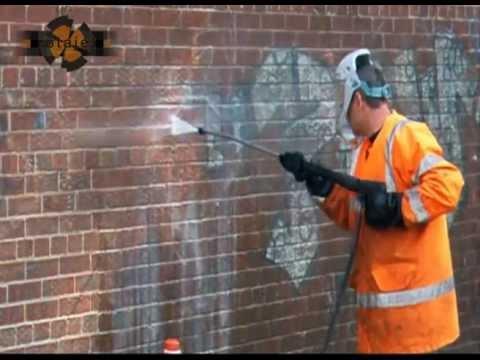 Graffiti Removal | Non Toxic | Rotajet Power Cleaning