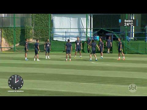 Domingo não teve descanso para a Seleção Brasileira | SBT Notícias (25/06/18)