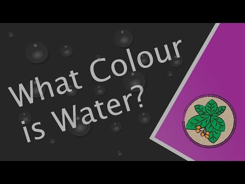 What Colour is Water?