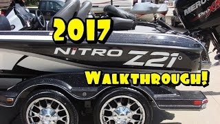 I Bought A New Boat!    2017 Nitro Z21 Walkthrough