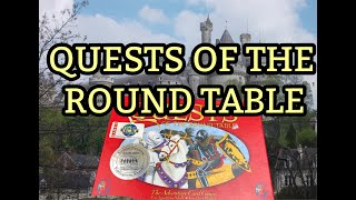 Gambar cover 4K QUESTS OF THE ROUND TABLE