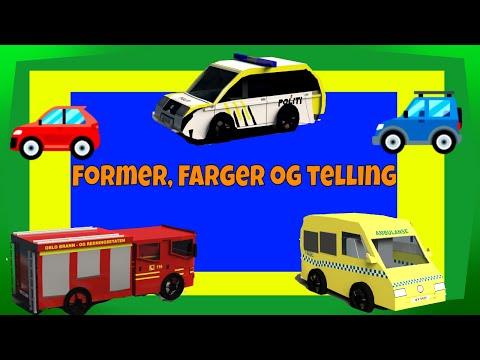 Lær å Telle | Lær ABC | Lær Farger | Barnkanal | Mix Med 8 Filmer | Barne TV