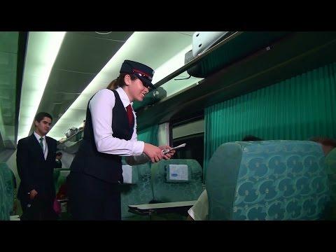 Imágenes a bordo del desaparecido tren nocturno Santiago-Temuco el 16/01/2015