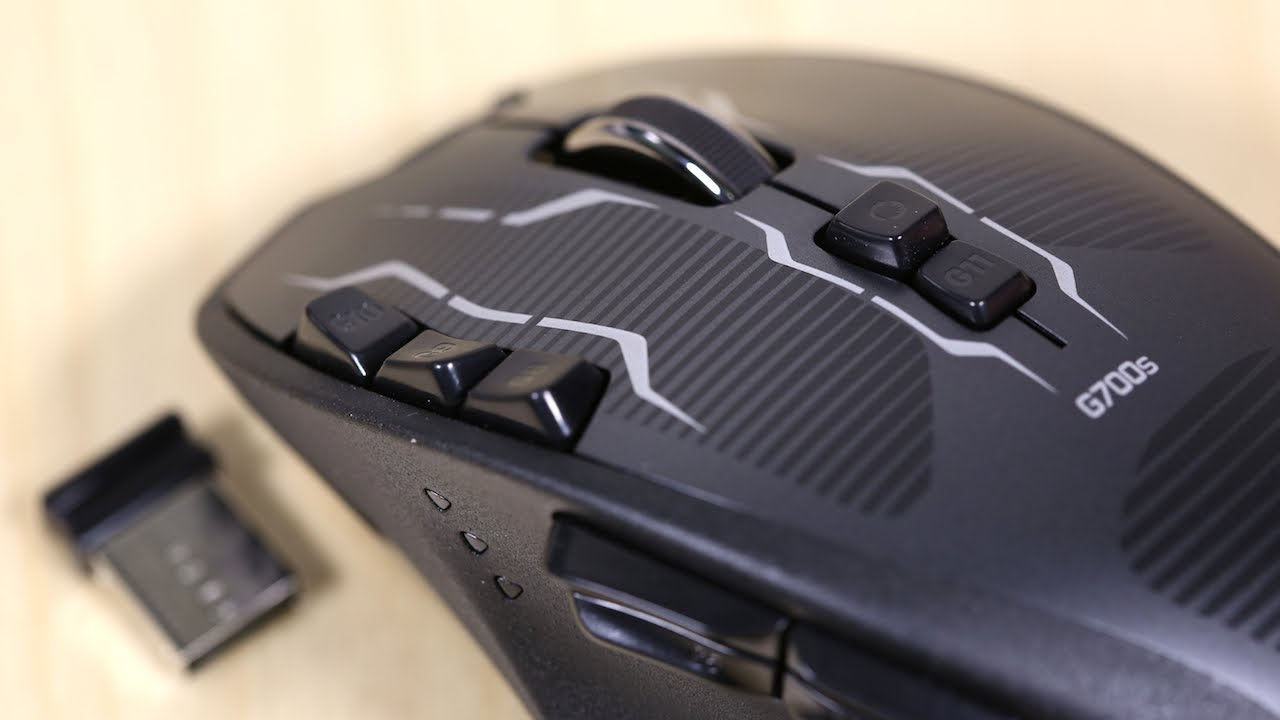 Logitech G700s Wireless Gaming Mouse Unboxing