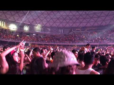 Momento Hardstyle-Hardwell Make The World Ours. LollaPalooz Chile 2018 4k