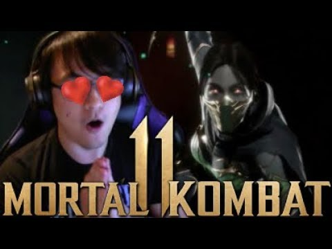 Mortal Kombat 11 - Jade REACTION Gameplay Reveal Trailer! thumbnail