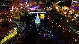 [空拍]-2018台中柳川聖誕燈會