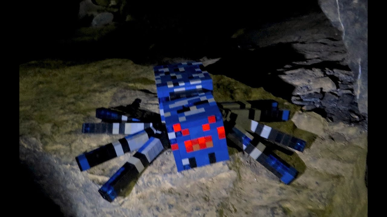 LEGO Cave Spider - Minecraft - YouTube