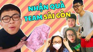 Team HN choáng váng khi nhận quà cực shock từ Hải Yến & Team Sài Gòn!